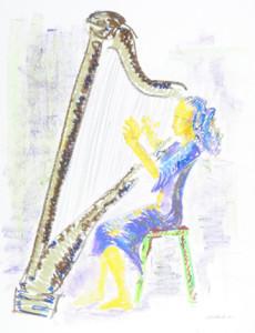 Harpist small