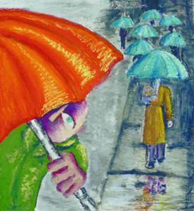 Walking Umbrellas 2